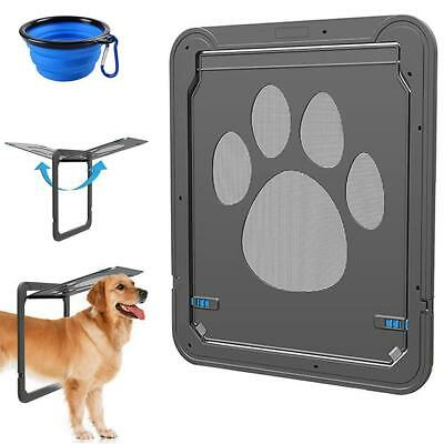 CATOOP Dog Screen Door, Pet Screen Door Protector for Sliding Door, Automatic