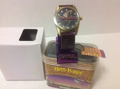 Harry Potter Brand New Quidditch Watch 2001 Collectable Tin Warner Bros. 00/01
