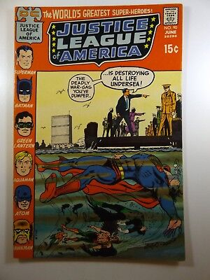 """Justice League of America #90 """"Plague of the Pale People!"""" VF+ Condition!!"""