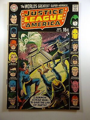 Justice League of America #83 Great Read!! Sharp VG Condition!!
