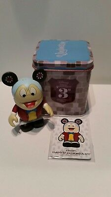 """DISNEY Vinylmation 3"""" Park Set 1 Annual Passholder Mr. Toad with Tin and Card"""