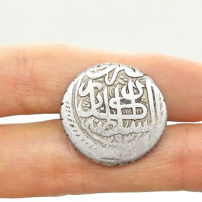 RARE Ancient Silver Arabic Persian Middle Eastern Numismatic Collectible Coin