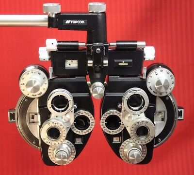Topcon VT-10 R Minus (-) Cylinder Phoropter Refractor Reconditioned.