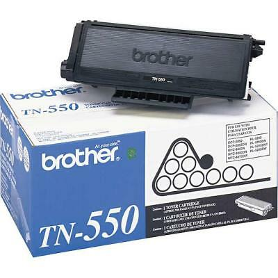 Oem Brother Tn550, Ppf2600, Ppf2750, Dcp8060, Ppf3550 Black Toner Cartridges