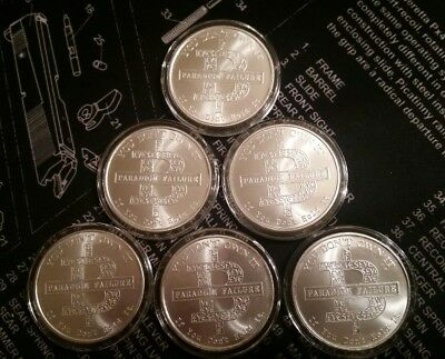 2014 1oz .999 BITCON BU AG ROUND IN AIRTITE RARE! Silver Shield SSG 777 BITCOIN