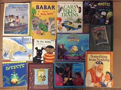 Lot of 20 K-5 Scholastic Learn to Read Picture Mix Set Kid Children Book #K37 NR