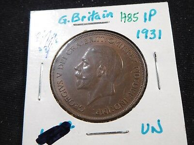H85 Great Britain 1931 Penny