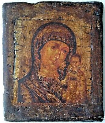 Russian Orthodox Icons. Icon Our Lady of Kazan 	 Copy of an antique icon.