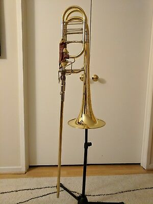 MODEL 50 BACH Stradivarius Bass Trombone with Backpack Case