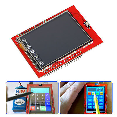 """2.4"""" TFT LCD Display Shield Touch Panel ILI9341 240X320 for Arduino UNO MEGA2560"""