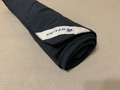 United Airlines First Class Duvet Blanket NEW Great Gift For Pilots Flight Staff