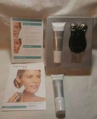 Nuface Mini Facial Toning For Parts W/2 New Sealed Gel Primer 2oz Tubes