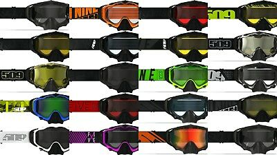 New 2019 509 Sinister X5 Snowmobile Goggle All Colors
