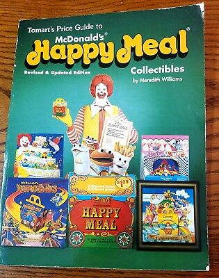 McDonalds Happy Meal Toys Collectors Guide Book