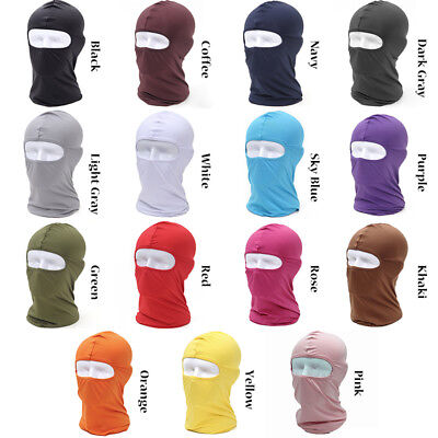 Outdoor Balaclava Full Face Mask Long Neck Hat Cap Hood Sun Protection Windproof