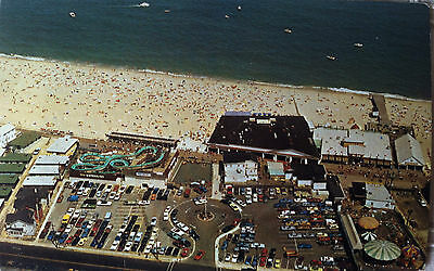 """Vintage Postcard """"AERIAL VIEW POINT PLEASANT BEACH"""" New Jersey"""