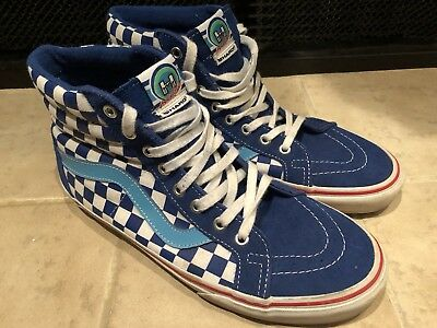 49a64f91a6 VANS HARO BMX Freestyler Sk8- Hi Blue Size (Usa) 9.5 Men s Women s ...