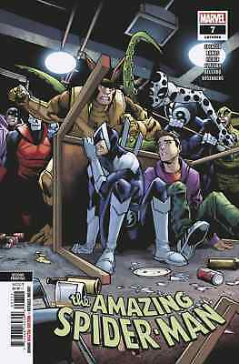 AMAZING SPIDERMAN 7 vol 5 2018 2nd PRINT VARIANT NM PRE-SALE 11/7