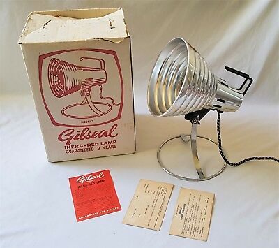 Vintage Breville Gilseal Model 2 Infra-Red Heat Lamp - In Original Box - Perfect