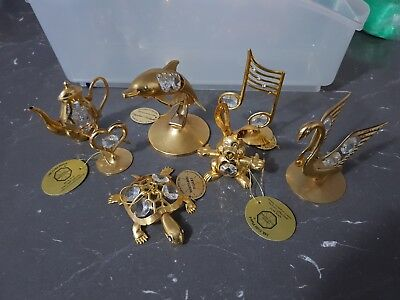 Crystal Temptations 24k gold 7 pieces