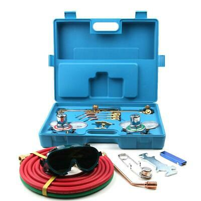 NEW Gas Welding & Cutting Kit Oxygen Torch Acetylene Regulator Welder w/ 15'Hose