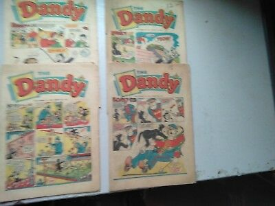 Dandy Comics  4 Issues From 1962  1050/   1081/  1083/    1098