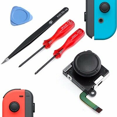 3D Analog Joystick With Repair Tools For Nintendo Switch Joy-Con Controller Kit