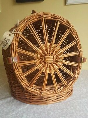 Wicker cat basket and carrier- fair trade