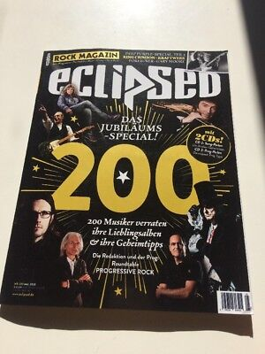 Eclipsed Rock Magazin Nummer 200 Mai 2018