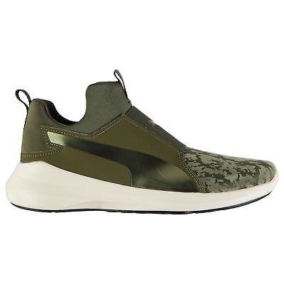 Puma Rebel Mid VR Fitness Training Shoes Womens Olive Gym Trainers Sneakers 365a16bd9