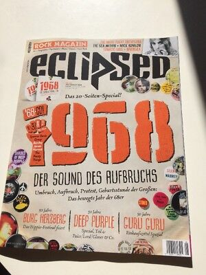 Eclipsed Rock Magazin    Nr.202 / Juli / August  2018 -        mit CD