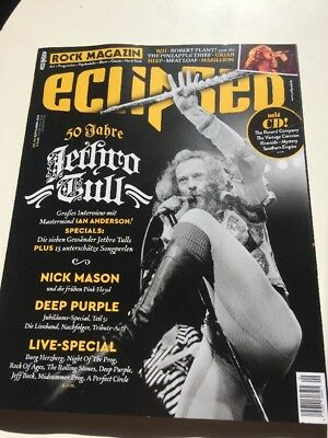 Eclipsed Rock Magazin - September 2018 - Mit Cd
