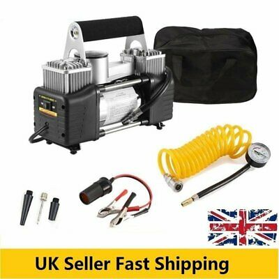 12V 150PSI Tire Inflator 4x4WD Air Compressor Pump For Car Vehicle VAN SUV Truck