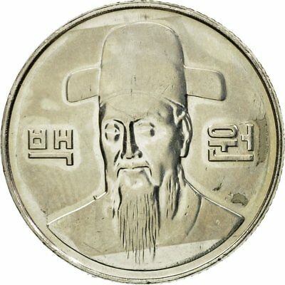 [#584311] Coin, KOREA-SOUTH, 100 Won, 2008, AU(55-58), Copper-nickel, KM:35.2