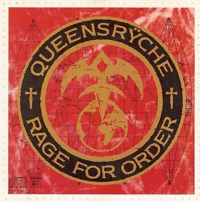 Queensryche  Rage For Order  CD 1986