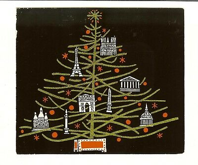 Vintage Christmas Card - Sent by The Duke and Duchess of Windsor