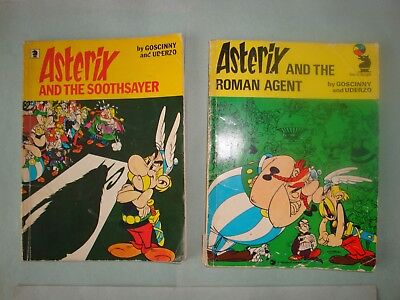 2 'Asterix and the Roman Agent' & 'Asterix and the Soothsayer' (1976 & 1978)