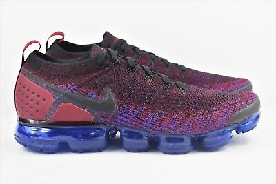 1d326849fe0 Nike Air Vapormax Flyknit 2 Mens Size 11 Running Shoes Team Red Black 942842  006