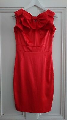Ted Baker Dress Size 8/10 Red
