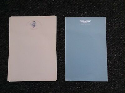 1940's ROSWELL ARMY FLYING SCHOOL~ADVANCED~blank stationary-