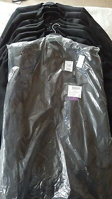 9 x Taylor & Wright Wedding Morning Formal Jackets with tails
