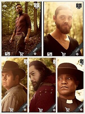 5x Topps WALKING DEAD DIGITAL Card Trader PORTRAITS SEASON 9 WAVE 2 [5 CARD SET]