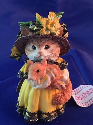 """VINTAGE THICKETS at SWEETBRIAR """"BUTTERCUP CAT"""" (MIB) RARE 350121"""