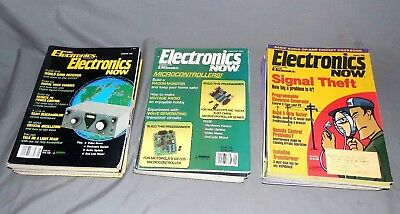 Lot 31 Vintage 1993, 1994 & 1995 Radio Electronics combined with Electronics Now
