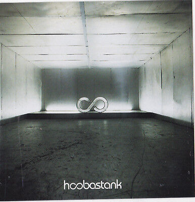 Hoobastank Band STICKER Album Cover Art Heavy Metal Music DECAL 2001