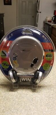 Jwin cd player with AM/FM stereo radio
