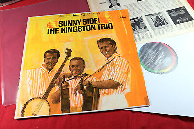 The Kingston Trio  SUNNY SIDE  -  LP Capitol ST 1935 USA sehr gut