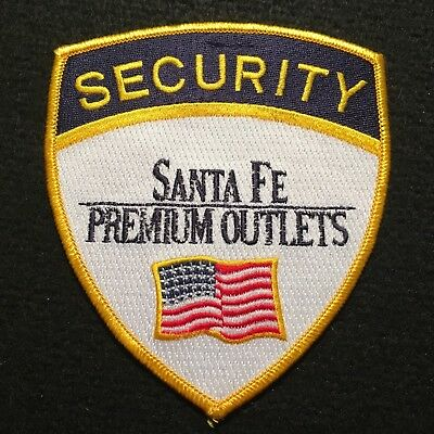 Santa Fe Premium Outlets Stores Security Patch / Outlet Mall New Mexico ?