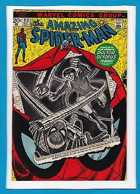 """Amazing Spider-Man #113_October 1972_G/vg_""""doctor Octopus Is Back""""_Bronze Age!"""