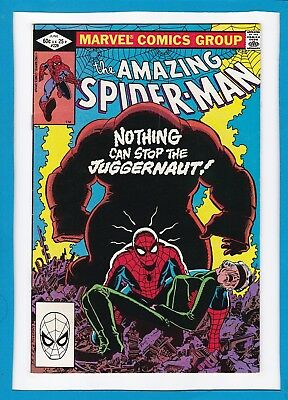 """Amazing Spider-Man #229_June 1982_Vf Minus_""""nothing Can Stop The Juggernaut""""!"""